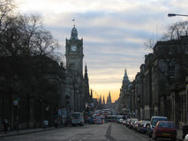 Princes Street, Edinburgh Stock Image