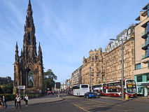 Princes Street Edinburgh Stock Images