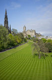 Princes Street Gardens Royalty Free Stock Images