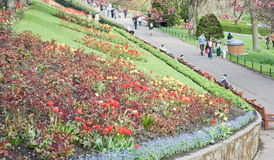 Princes Street Gardens Edinburgh. Royalty Free Stock Image