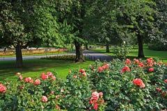Princes Street Gardens In Edinburgh, Scotland Royalty Free Stock Image