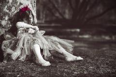 Princesa aburrida Imagen de archivo