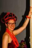 Princesa africana imagen de archivo libre de regalías