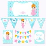 Princesa Birthday Fotos de archivo libres de regalías