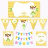 Princesa Birthday Imágenes de archivo libres de regalías