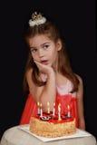 Princesa Birthday Cake imagenes de archivo