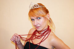 Princesa bonita Fotos de Stock Royalty Free