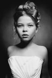 Princesa bonita da menina fotografia de stock royalty free