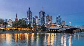 Princesa Bridge de Melbourne Imagen de archivo libre de regalías