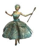 Princesa CA do floco de neve ilustração do vetor