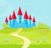 Princesa Castle Fotos de archivo libres de regalías
