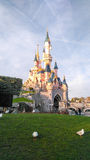 Princesa Castle de DISNEYLÂNDIA PARIS Imagem de Stock Royalty Free