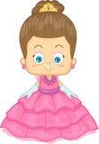 Princesa caucásica Imagen de archivo libre de regalías