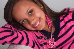 Princesa cor-de-rosa Fotos de Stock Royalty Free
