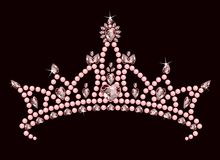 Princesa Coroa Fotografia de Stock