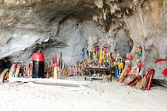 Princesa da caverna de Phra Nang imagens de stock royalty free