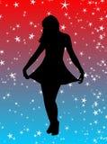 Princesa da estrela ilustração stock