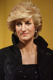 Princesa da exibição do modelo de cera de Gales Foto de Stock
