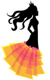 Princesa da forma Fotografia de Stock Royalty Free