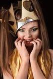 Princesa da forma Fotos de Stock Royalty Free