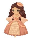 Princesa de Chibi Fotos de Stock