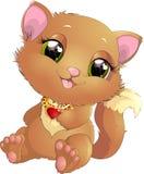 Princesa de Kitty con las decoraciones Fotografía de archivo
