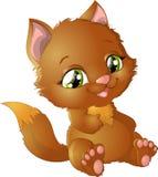Princesa de Kitty con las decoraciones Fotos de archivo libres de regalías