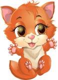 Princesa de Kitty con las decoraciones Foto de archivo