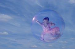 Princesa de la burbuja imagenes de archivo