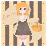 Princesa de la muchacha Imágenes de archivo libres de regalías