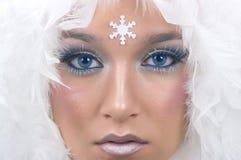 Princesa de la nieve Imagenes de archivo
