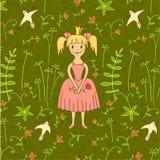 Princesa de passeio Foto de Stock