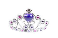 Princesa de plata Crown Isolated Foto de archivo libre de regalías