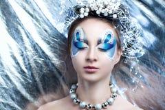 Princesa de plata de la nieve Imagen de archivo