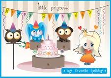 Princesa del cumpleaños Imágenes de archivo libres de regalías