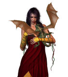 Princesa del dragón libre illustration