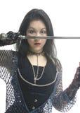 Princesa del guerrero imagen de archivo libre de regalías