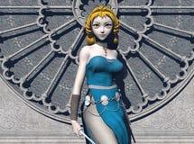 Princesa del guerrero de Freja Imagen de archivo libre de regalías