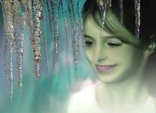 Princesa del hielo Foto de archivo libre de regalías