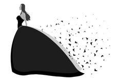 Princesa del vestido Fotografía de archivo libre de regalías