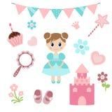 Princesa Design Elements Fotos de archivo libres de regalías