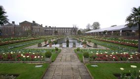 Princesa Diana Memorial Garden en Hyde Park metrajes