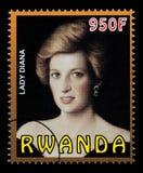 Princesa Diana Postage Stamp imágenes de archivo libres de regalías
