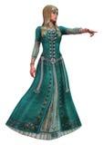 Princesa do conto de fadas Imagem de Stock