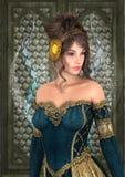 Princesa do conto de fadas Imagens de Stock Royalty Free