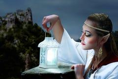 Princesa do duende Imagens de Stock Royalty Free
