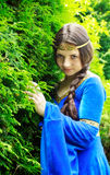 Princesa do duende no jardim verde Foto de Stock Royalty Free
