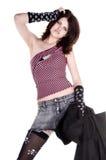 Princesa do punk do pirata Fotografia de Stock