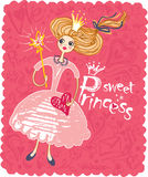 Princesa dulce. Imagenes de archivo