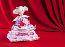 A princesa e a ervilha Imagens de Stock
